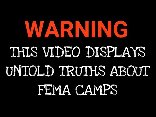 AMG: Massive FEMA Death Camp With Graves Discovered In Houston