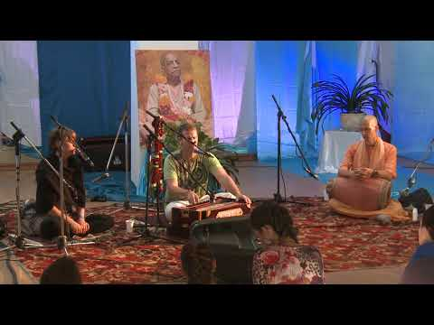 """Mantra Party"" HG Tarana Caitanya prabhu -20- Vilnius, Lithuania 2017.09.24."