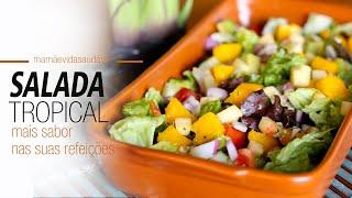 Salada Refrescante Tropical