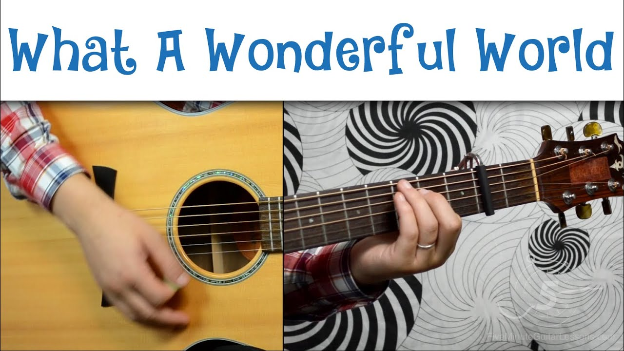 How to play what a wonderful world by sam cooke youtube how to play what a wonderful world by sam cooke hexwebz Images