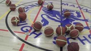 Calgary Basketball Academy Girls Fall 2012 Training
