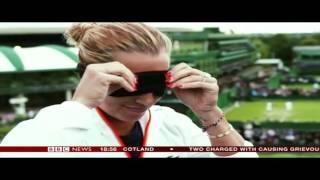 Dominika Cibulkova smells tennis balls - 2016 07 03