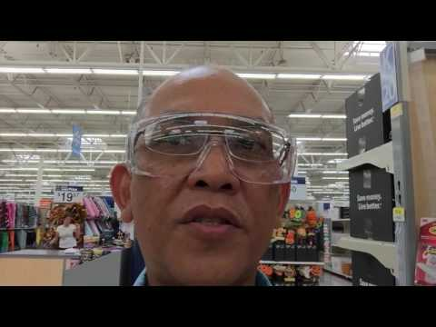 Over-Prescription Safety Glasses at Walmart for $2 - YouTube