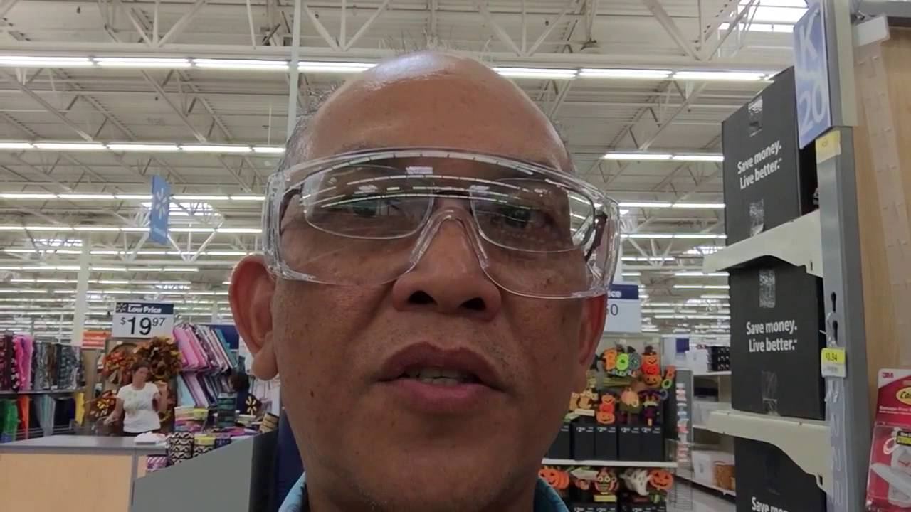 9bf02017fb Over-Prescription Safety Glasses at Walmart for  2 - YouTube