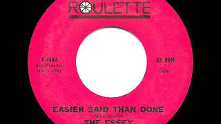 1963 HITS ARCHIVE: Easier Said Than Done - Essex (a #1 record)