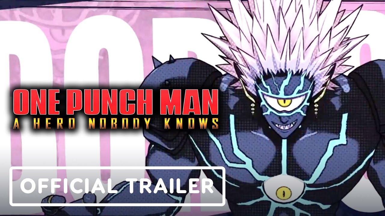One Punch Man: A Hero Nobody Knows - Trailer oficial dos personagens (Boros e mais) + vídeo