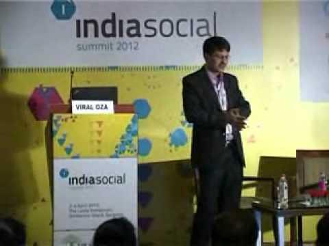 Viral Oza, Nokia at the IndiaSocial Summit 2012