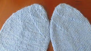 Мысок носка «Спиральный»