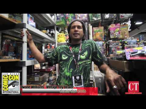 """Comic Con 2016 """"How much do vintage toy dealers make at this show"""" Interview for City Times"""