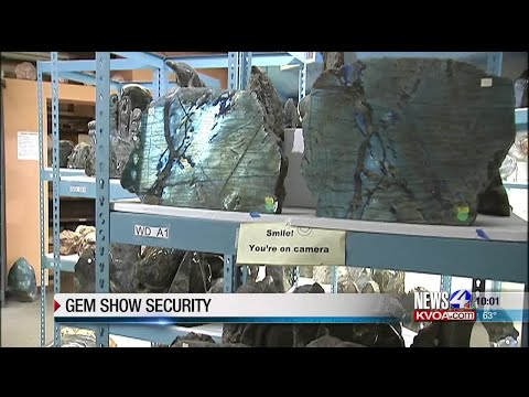 Gem show location steps up security after break-in a year ago