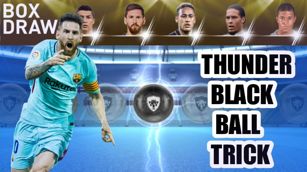 Thunder black ball trick in player to watch 2019 box draw pes 2019
