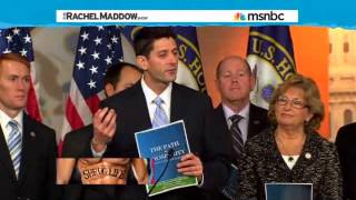 Rachel Maddow's Epic Demolition Take Down Of Paul Ryan As A Fiscal Conservative