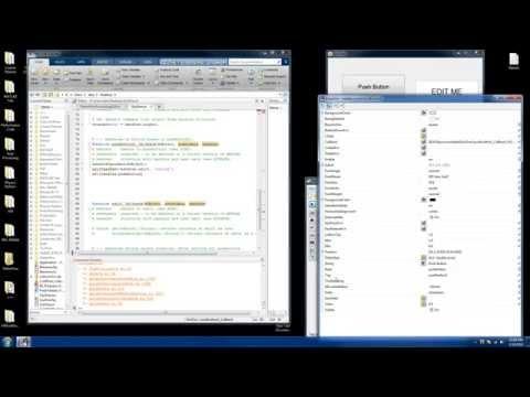 Matlab GUI Callback Functions