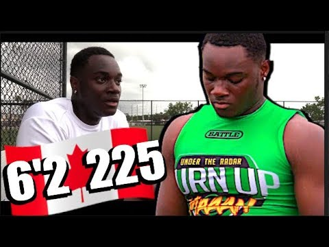 🔥🌴 6'2 225 BEAST ! Kervens Bonhomme '19 | Clearwater Academy (Clearwater, FL) Junior Yr Spotlight