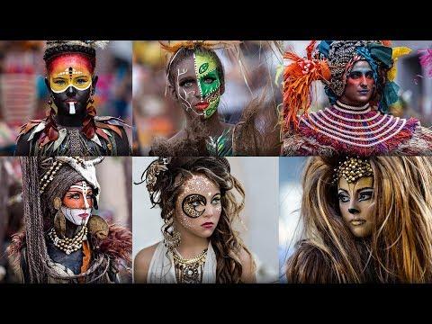 İspanyadan Muhteşem Karnaval Fotoğrafları Galerisi Canon 5D Mark III ile çekilmiştir