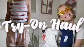 Affordable Try-on Summer Clothing Haul 2018 | Forever21, Old Navy, Converse