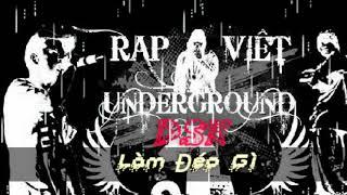 Làm Đéo Gì | DSK | Rap Việt (video lyric)
