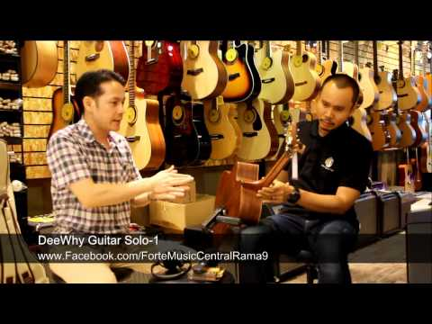 DeeWhy Guitar Solo-1 by AcousticThai.Net