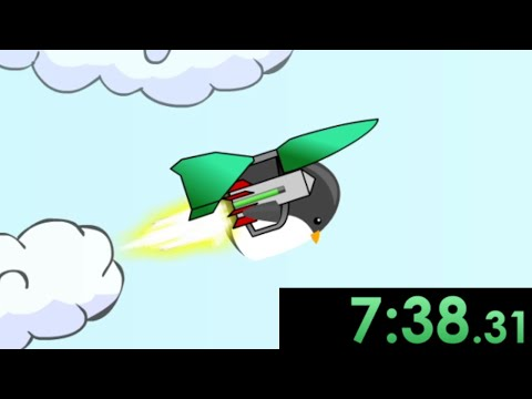 I decided to speedrun Learn To Fly and proved all the penguin doubters wrong