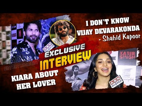 I Don't Know Vijay Devarakonda: Shahid Kapoor | Kiara Advani About Her Lover | ABN Entertainment