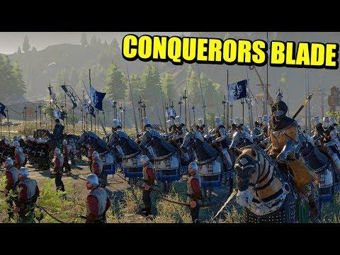 MOUNT AND BLADE + FOR HONOR = CONQUERORS BLADE (BETA CERRADA) | Gameplay Español