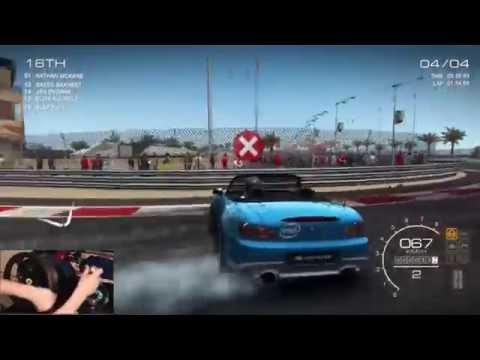 GRID Autosport Ep 2 - Damage Models Test/ S2K , 302 Boss Lap/Race Times w/Wheel Cam