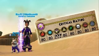 Wizard101: My 120 Storm Stats - The NEW Storm Critical