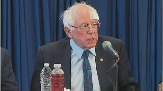 Bernie Sanders Gets Stitches After Cutting Head On Shower Door