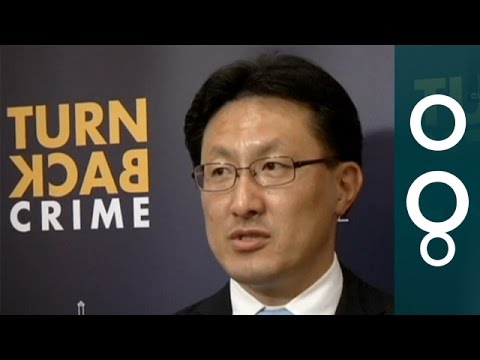 Interpol / Europol On Cybercrime - NoboruNakatani And TroelsOerting In Singapore