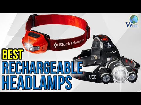 10 Best Rechargeable Headlamps 2017