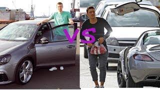 Per mertesacker cars vs Mesut ozil cars (2018)