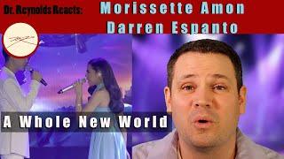 Voice Teacher & Opera Stage Director reacts and analyzes Morissette Amon & Darren Espanto