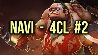 NaVi vs 4CL Highlights Champions League Game 2 Dota 2