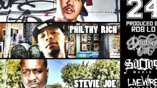 "NEW SLAP!! ""24"" Danked Out featuring Philthy Rich & Stevie Joe. ""RELOADED"" album comin soon!!!"