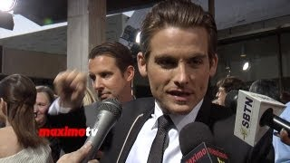 "Kevin Zegers Interview ""The Mortal Instruments: City of Bones"" LA Premiere"