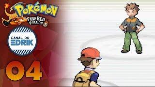 Detonado - Pokémon Fire Red (GBA) #04 - PRIMEIRO LÍDER: BROCK - PT-BR