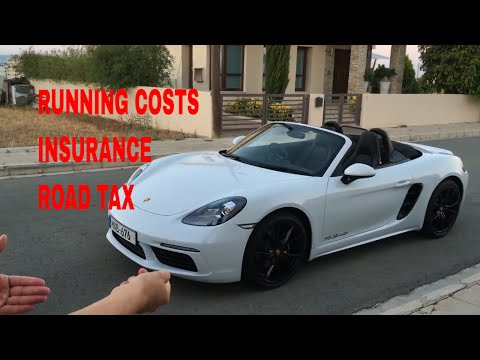 RUNNING COSTS OF A PORSCHE 718 BOXSTER!!!!!