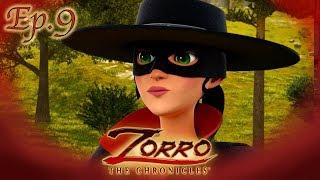 ZORRO ET SON DOUBLE |Les Chroniques de Zorro | Episode 9 | Dessin de super-héros