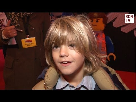 Harry Hickles Interview The Lego Movie UK Premiere