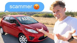 I Listed A Free Car Online & No One Believed Me!