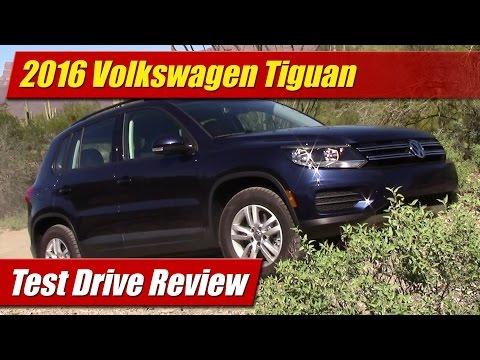 2016 Volkswagen Tiguan: Test Drive Review