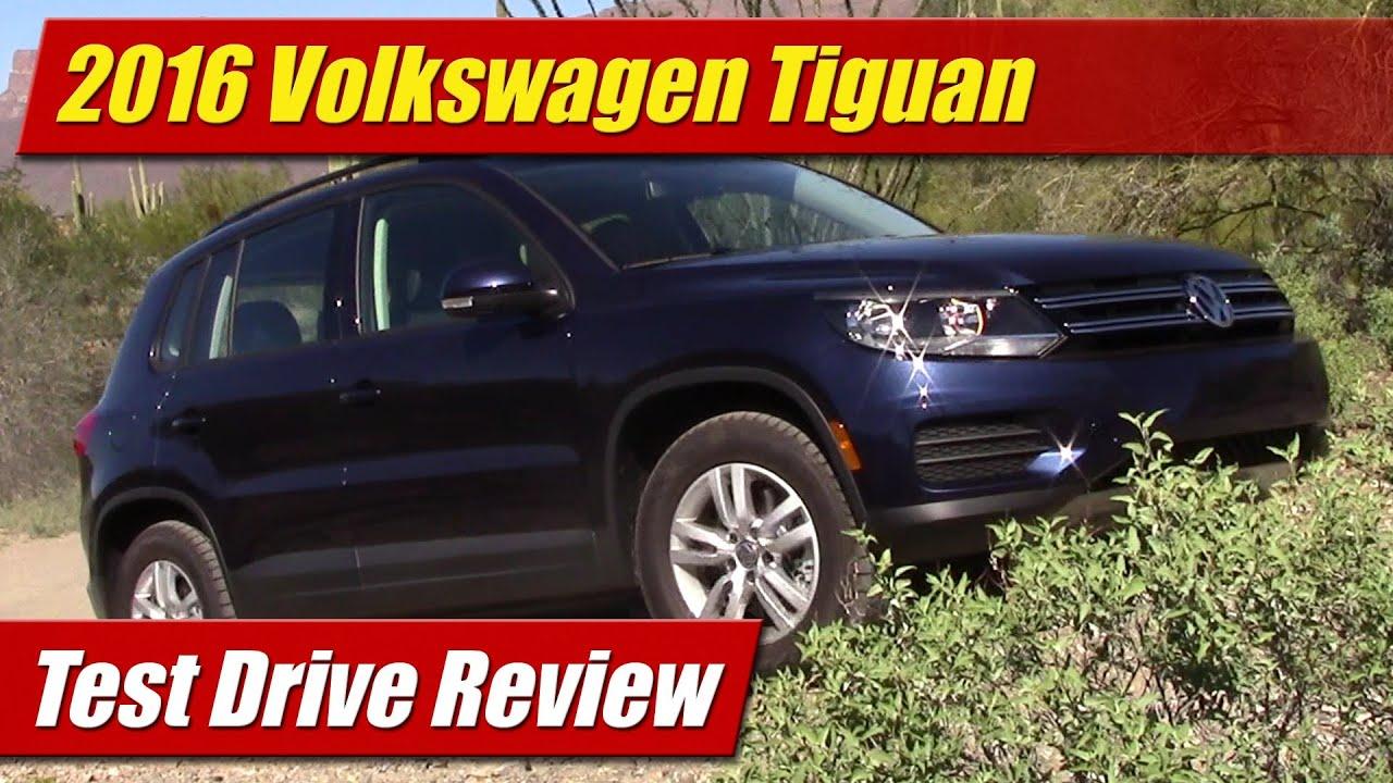 2016 Volkswagen Tiguan Test Drive Review