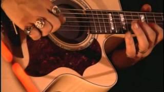 Solos de violão/guitarra de Serginho acústico live