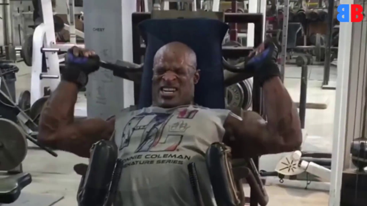 ronnie coleman training 2018 go all the way youtube