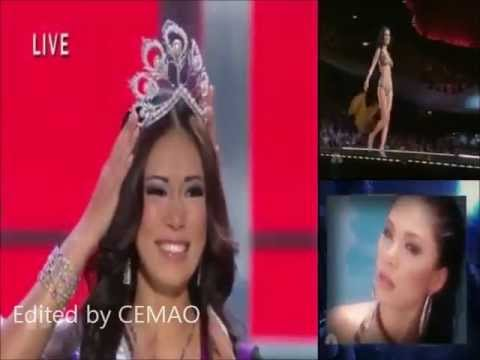 Riyo Mori ( Japan ), Miss Universe 2007 - Crowning Moment