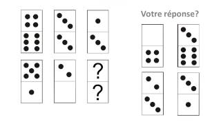Tests de QI: Les Dominos