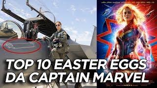 10 Easter Eggs e curiosità su Captain Marvel che forse non avete notato