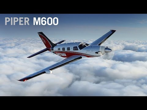 Flying the Piper M600 Turboprop Aircraft – AINtv