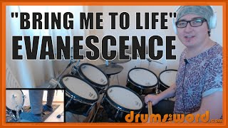 ★ Bring Me To Life (Evanescence) ★ Drum Lesson PREVIEW | How To Play Song (Rocky Gray)