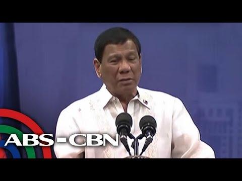 TV Patrol: Duterte, binanatan ang ilang kumpanya sa kanyang talumpati sa Qatar
